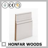 Modanatura di legno stampato stile semplice della scheda bianca