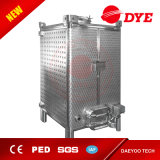 El acero inoxidable puede ser fermentadora empilada del cuadrado de la cerveza, precio del depósito de fermentación