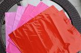 Saco plástico da embalagem do vestuário feito sob encomenda com selo adesivo