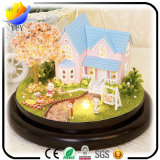 Delicate Red Custom Carousel Music Boxes and Wholesale Children Gallopers Music Box,
