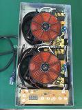 fresa di induzione elettrica di domino dei bruciatori 220V/120V due per la cucina Sm-Dic10 della famiglia