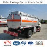 ユーロ4 6cbm Dongfengのガソリンガソリン石油燃料のタンク車