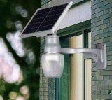 Alle in einer Solargarten-Beleuchtung mit Lithium-Batterie