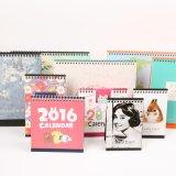 Umweltfreundlicher kundenspezifischer Entwurf gedruckter Tischkalender für Geschenk