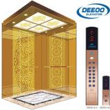 عادة تصميم مقصور مدهشة ذهبيّة مسافر مصعد