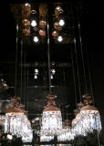 grande lâmpada de vidro decorativa moderna do pendente
