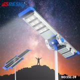 高い発電の屋外の柱上灯LEDの太陽街灯をインストールすること容易