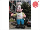 Pubblicità della mascotte gonfiabile C1-217 del personaggio dei cartoni animati