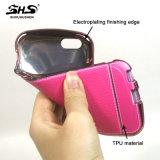 Caja del teléfono de los accesorios TPU del teléfono móvil de Shs para el iPhone 7
