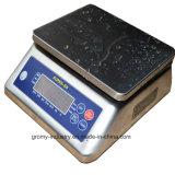 방수 스테인리스 벤치 가늠자 테이블 무게를 다는 가늠자 30kg
