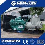 генератор 800kw 1000kVA Cummins тепловозный с Kta38-G5
