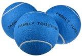 La pelota de tenis gigante para el animal doméstico de los deportes juega 9.5-Inch