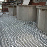Placa de rejilla de barras de acero para plataformas