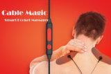 Collet tenu dans la main électrique neuf de 2017 Shiatsu et magie arrière de câble de rouleau-masseur