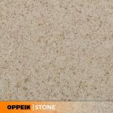 Dessus en gros de vanité de cuisine de partie supérieure du comptoir de brame de quartz d'usine de pierre de quartz