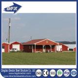 A exploração agrícola de galinha fornece o edifício de exploração agrícola Prefab da galinha