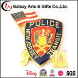 저가에 있는 Souvernir를 위한 주문품 금속 경찰 기장