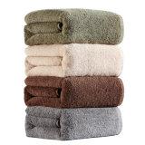 Meilleure essuie-main de coton de couleur personnalisé par vente faite sur commande en gros
