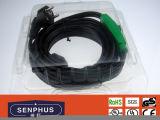 Câble chauffant de rendement optimum de pipe