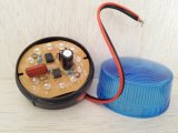 회전하는 스트로브 경고 번쩍이는 사이렌 경보 빛 램프를 회귀하는 LED
