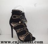 ニースの上部デザインのShoes方法女性