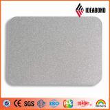 Panneau de mur en aluminium bon marché de revêtement d'argent externe de mur d'Ideabond (AF-408)