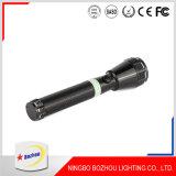 Lampe-torche rechargeable de l'aluminium DEL de haute énergie de 3 watts
