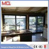 Porte coulissante en verre en verre en aluminium de 2,0 mm pour vente