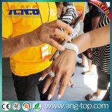Wristbands impermeabili a due frequenze di RFID per i centri di forma fisica