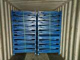 貯蔵容器の金網のケージの金属の木枠をスタックする鋼鉄
