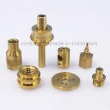 Peça de maquinaria de bronze do CNC do OEM da elevada precisão de Customed