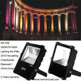 Luz de inundación al aire libre impermeable del grado superior 50W LED