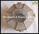 Netwerk van de Draad van het roestvrij staal 304 de Container van het Netwerk van de Draad