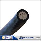 Câble d'ABC isolé poly par PE avec le conducteur en aluminium AAC AAAC ACSR