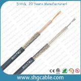 Câble coaxial de liaison de la qualité 50ohms Rg174/U rf