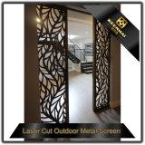 Portello di alluminio decorativo tagliato laser interno
