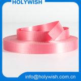 Tejido de diseño personalizado de poliéster Comprar cinta rosada para la venta