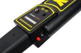 Metal detector tenuto in mano di potere di obbligazione automatica di risparmio per lo scansione MD150 del corpo