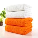 Essuie-main 100% blanc de Bath de STATION THERMALE d'hôtel de coton du best-seller