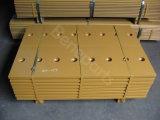 Pièces de rechange de double chargeur plat conique du tranchant 4t6375 de bouteur, lame, morceaux d'extrémité, tranchant