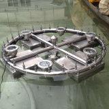 Fontaine de flottement d'acier inoxydable de décoration de lac