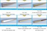 Ascensore per persone lussuoso di Fushijia con l'acciaio inossidabile dello specchio (FSJ-K24)