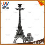 중국 Hookah 공급자 중간 크기 에펠 탑 Hookah