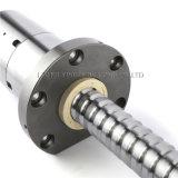 La máquina del CNC parte el tornillo molido precisión de la bola de la fábrica de China