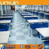 Plancher commercial de vinyle de PVC de biens et de qualité