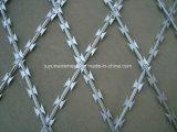 Collegare a fisarmonica del rasoio/filo a fisarmonica galvanizzato del collegare del rasoio/del rasoio obbligazione di Hight