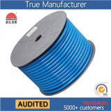 Bleu tressé des tuyaux d'air du polyester TPU 12*8