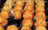 Gril de boulette de poissons du gaz 3-Head de matériel de restaurant pour la vente en gros