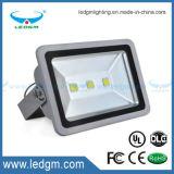 Indicatore luminoso di inondazione impermeabile del chip 110lm/W 6500k 150W 120W LED di Bridgelux con 3 anni di garanzia