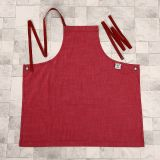 Rouge Dames Denim Fabric Mode Full Bib Apron (RS-170301A)